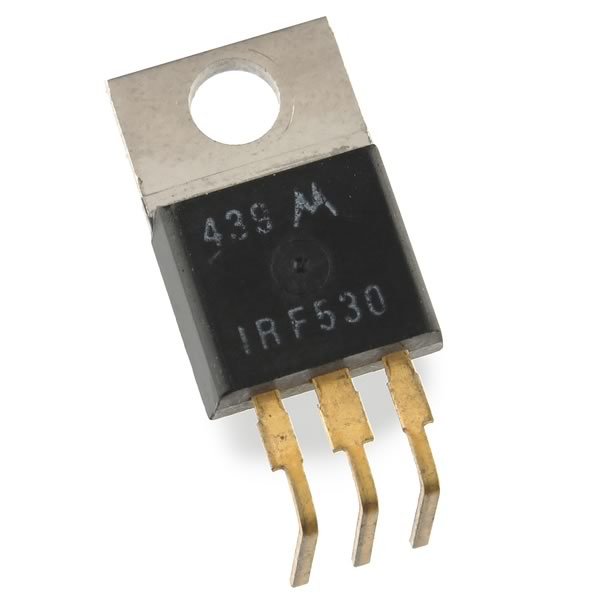 (Pkg 5) IRF530 Power MOSFET with Formed Leads