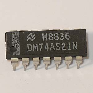 DM74AS21N Dual 4-Input AND Gate (National)