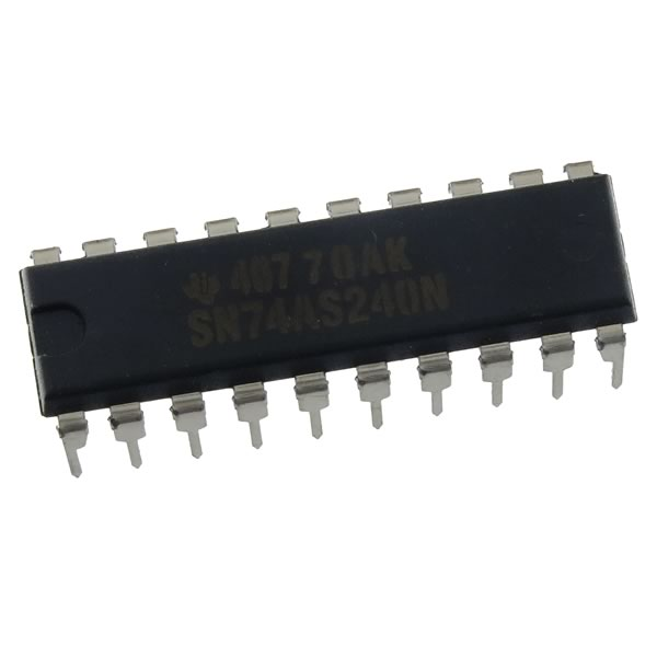 (Pkg 3) SN74AS240N Octal Buffer/Driver (TI)