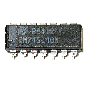 DM74S140N Dual 4-Input NAND 50 ohm Line Driver (National)