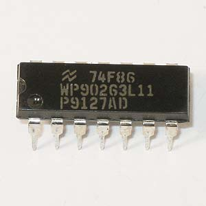 74F86 Quad 2-Input Exclusive-OR Gate (National)