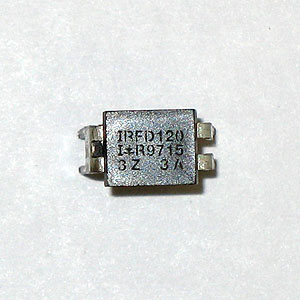 IRFD120  100V Single N-Channel HEXFET Power MOSFET (IR)