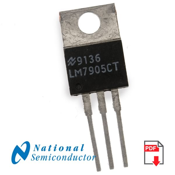 CLEARANCE! (Pkg 10) LM7905CT Negative Regulator (National)