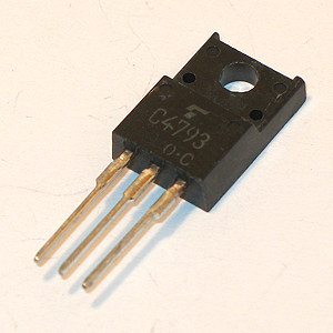 2SC4793 Power/Driver Stage Amplifier Transistor (Toshiba)