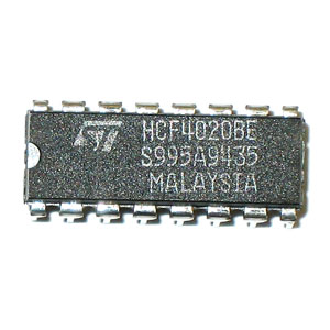 HCF4020BE 14-Stage Ripple-Carry Binary Counter/Divider (SGS)