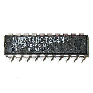 74HCT244N 3-State Octal Buffer/Line Driver (Philips)