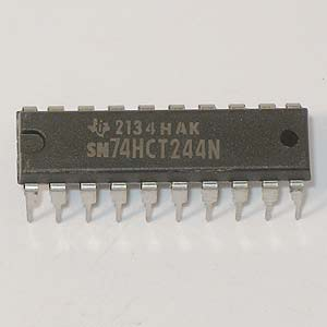 SN74HCT244N Octal Buffer and Line Driver (TI)