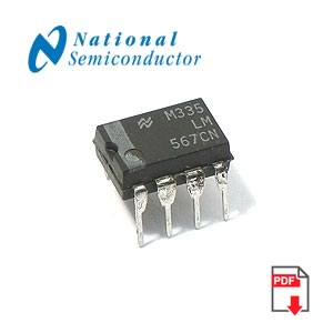 LM567CN Tone Decoder (National)