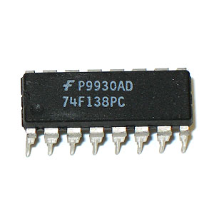 74F138PC 1-of-8 Decoder/Demultiplexer (Fairchild)