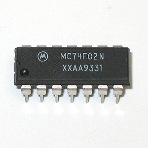 MC74F02N Quad 2-Input NOR Gate (Motorola)