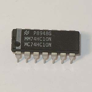 MM74HC10N Triple 3-Input NAND Gate (National)