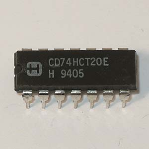 CD74HCT20E Dual 4-Input NAND Gate (Harris)