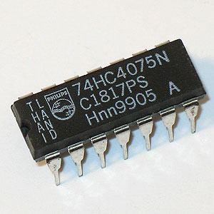 74HC4075N Triple 3-Input OR Gate (Phillips)