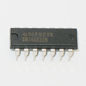 SN74AS32N Quadruple 2-Input Positive-OR Gate (TI)