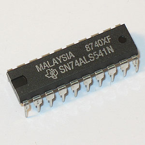 SN74ALS541N Octal Buffer/Line Driver w/3-State Outputs (TI)
