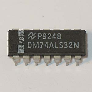 DM74ALS32N Quad 2-Input OR Gate (National)