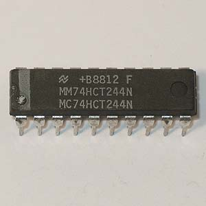 MM74HCT244N Octal 3-State Buffer (National)