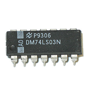 DM74LS03N Quad 2-Input NAND Gate (National)