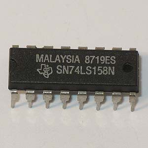 SN74LS158N 2-Line To 1-Line Data Selector/Multiplexer (TI)