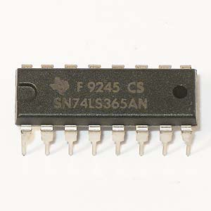SN74LS365AN Hex Bus Driver w/3-State Outputs (TI)