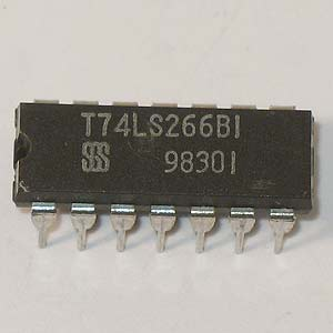 T74LS266B1 Quad 2-Input Exclusive-NOR Gate (SGS)