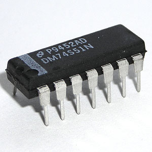 DM74S51N Dual 2-Wide 2-Input AND-OR-INVERT Gate (National)