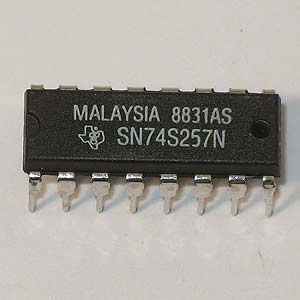 SN74S257N Quad  Data Selector/Multiplexer (TI)