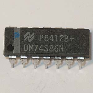 DM74S86N Quad 2-Input Exclusive-OR Gate (National)