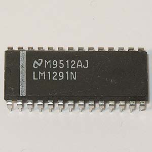 LM1291N PLL System for Continuous Sync Monitors (National)