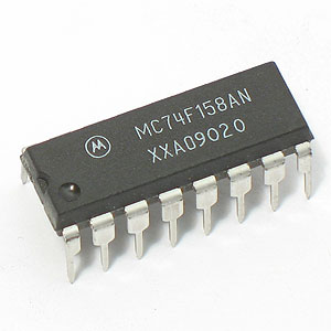 MC74F158AN Quad 2-Input Multiplexer (Motorola)