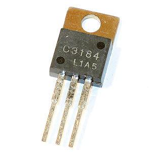 2SC3184 800V 0.5A Switching Regulator