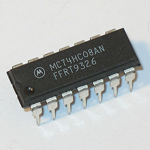 MC74HC08AN Quad 2-Input AND Gate (Motorola)