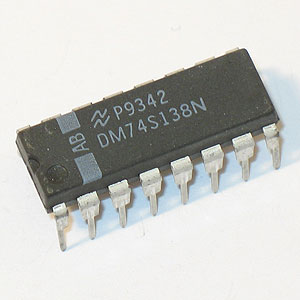 DM74S138N Decoder/Demultiplexer (National)