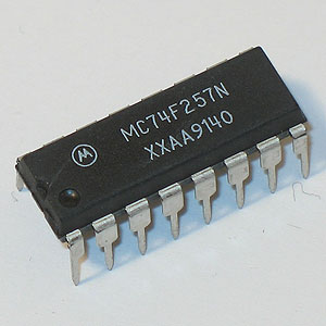 MC74F257N Quad Data Selector/Multiplexer (Motorola)
