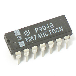 MM74HCT08N Quad 2-Input AND Gate (National)