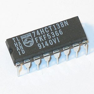 74HCT138N Inverting Decoder/Demultiplexer (Phillips)