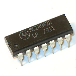 MC14082BCP Dual 4-Input AND Gate (Motorola)