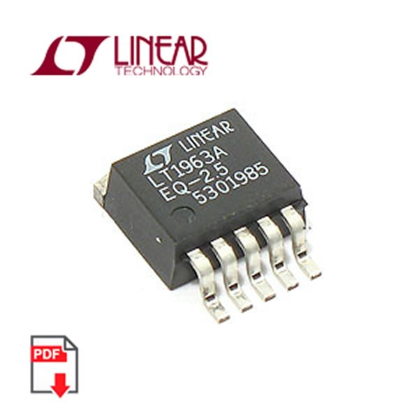 LT1963AEQ-2.5 SMD Low Noise LDO Regulator (Linear Tech)