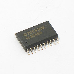 SN74ALS240A SMD Octal Buffer/Driver w/3-State Outputs (TI)
