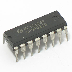 MC10103P Quad 2-Input OR Gate (Motorola)