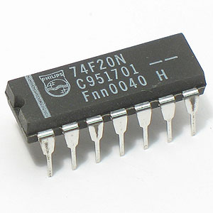 74F20N Dual 4-Input Positive-NAND Gate (Phillips)