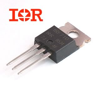 IRF710 2.0A, 400V, 3.600 Ohm, N-Channel Power MOSFET (IR)
