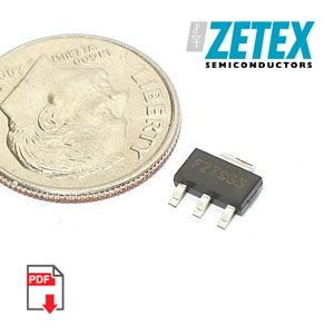 FZT955TA PNP High Current High Performance Transistor(Zetex)