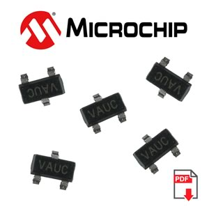 MCP1525T-I/TT 2.5V Voltage Reference (Microchip)