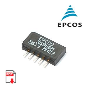 Epcos X6966M 36,125 MHz Bandpass Filter