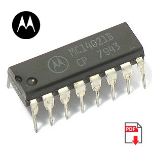 MC14021BCP 8-Bit Static Shift Register (Motorola)
