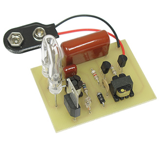 9VDC Strobe Warning Flasher Kit