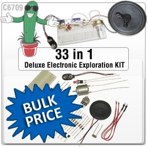 33 IN 1 DELUXE ELECTRONIC LAB (Unboxed)