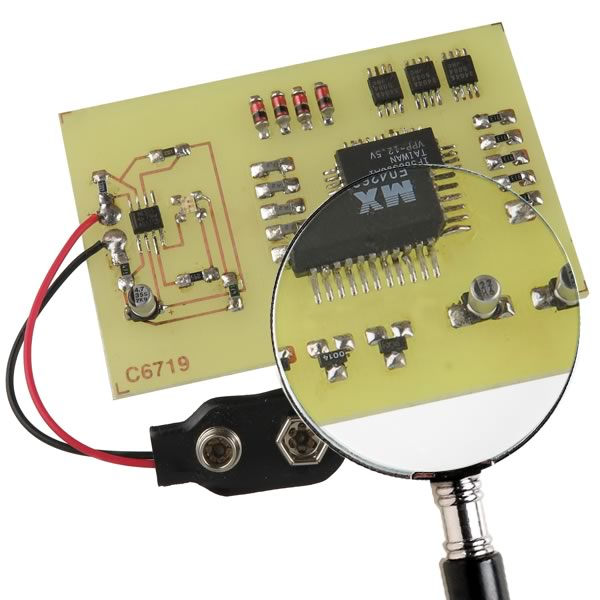 SMD STAR - learn to SMD solder kits by TomKeddie on Tindie