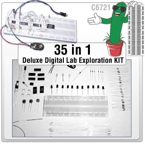 35 in 1 Digital LAB Exploration Kit